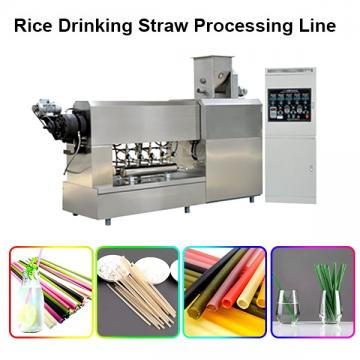 Grain Straws Manufacturer Pasta Straw Making Machine Equipment