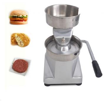 Automated Hamburger Patty Molding Making Machine Maker Set