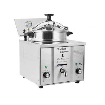 Cnix Factory Price Kitchen&Fast Food Restaurant Equipment Small Pressure Fryer